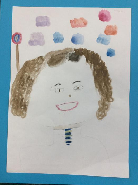 A self portrait by Olivia
