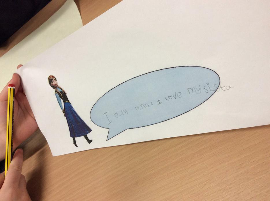 ...and speech bubbles!