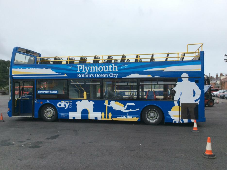 And shiny new buses.