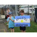 Athletic Argentina team members