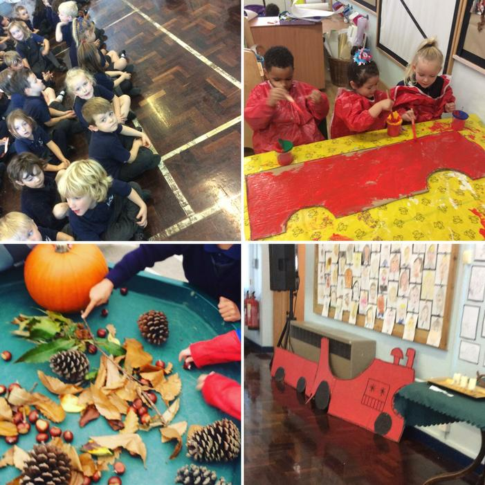 We took part in the Harvest Assembly.