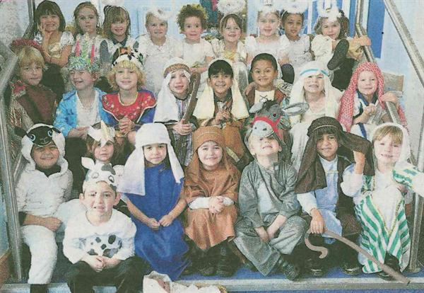 Did you see our Nativity photograph in the Herald?