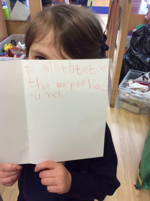 A fantastic letter to Supertato