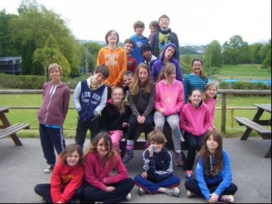 Year 6 on camp May 2013