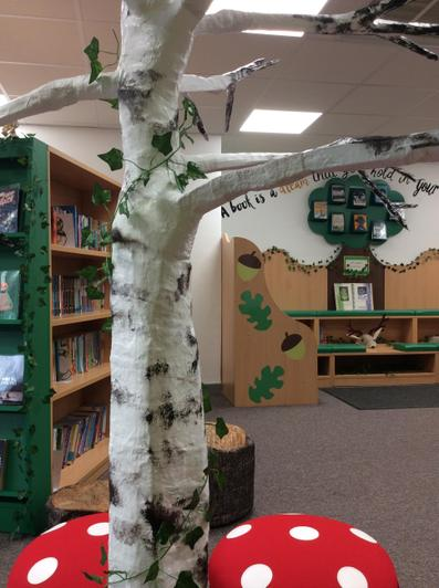 Our wonderful library is now open once again!