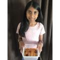 Anushka cleans pennies