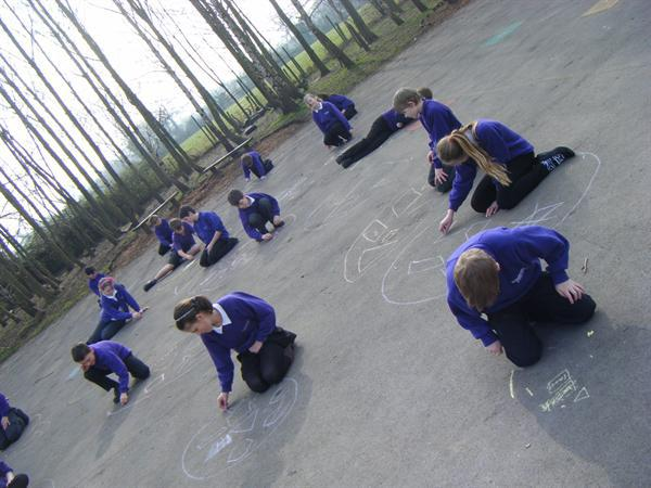 Chalk Shape Drawing