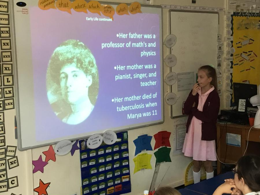 Laura- A presentation on Marie Curie