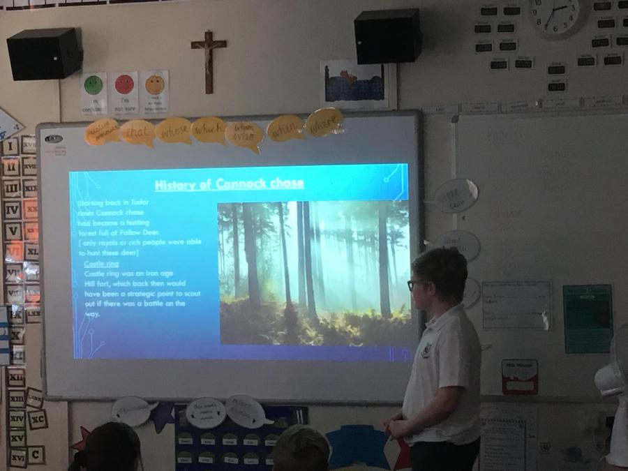 Sam- A presentation on Cannock Chase