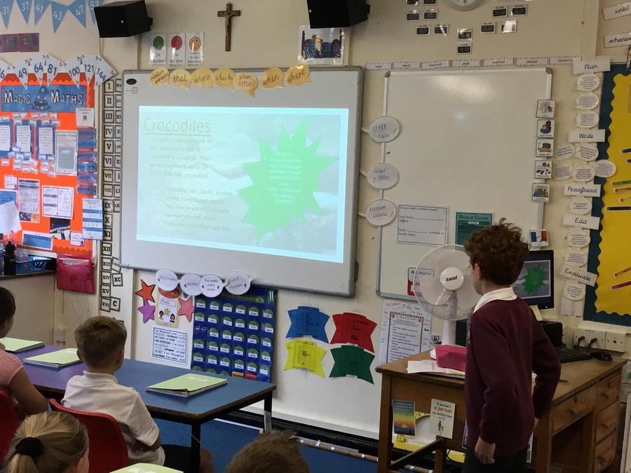 George- a presentation on animals
