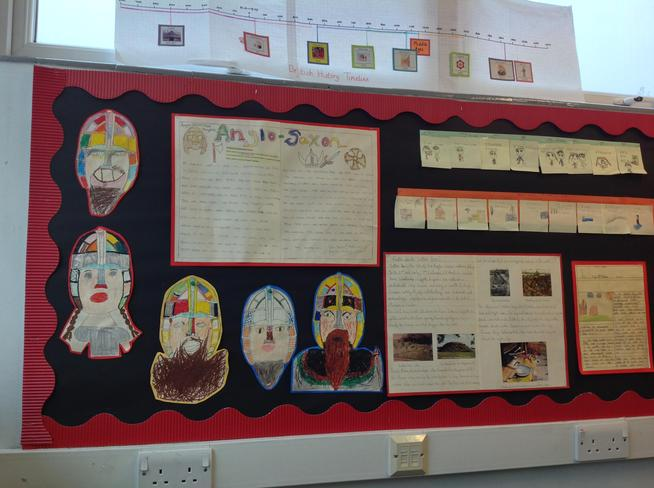 Anglo Saxon Topic Display - 4KM