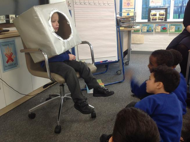 History - Hot seating Neil Armstrong