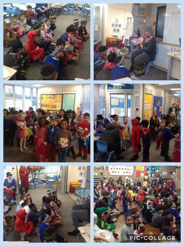 A fun filled World Book Day!