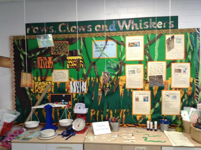 Here is our display in Year 1