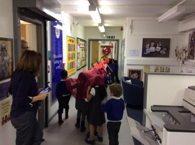 Mrs Murphy and Miss Clegg enjoyed our visit too!