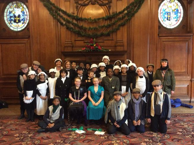 The children had a great time at Croxteth Hall.