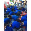 We are hedgehogs hibernating!