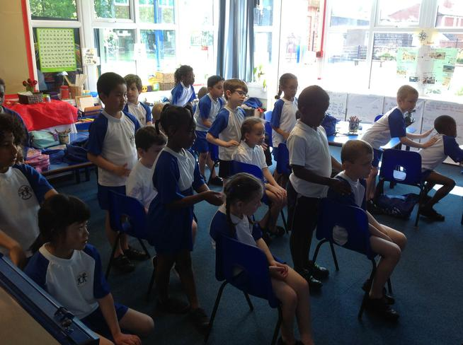Year 2 enjoyed some massage. It was relaxing!