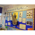 Anglo Saxon Topic Display - Y4D