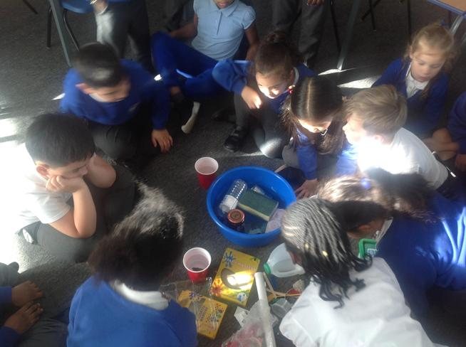 We investigated which types of materials