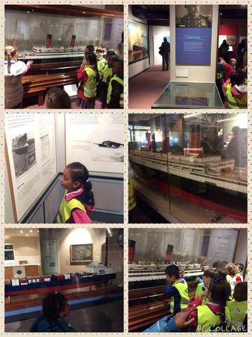 We explored the Maritime Museum