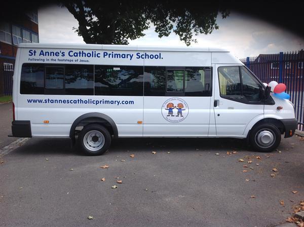 Our school minibus!