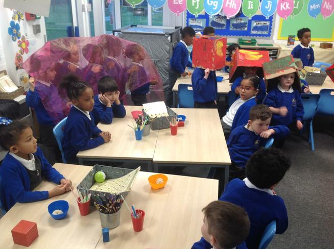 We loved our visit from our Reception friends!