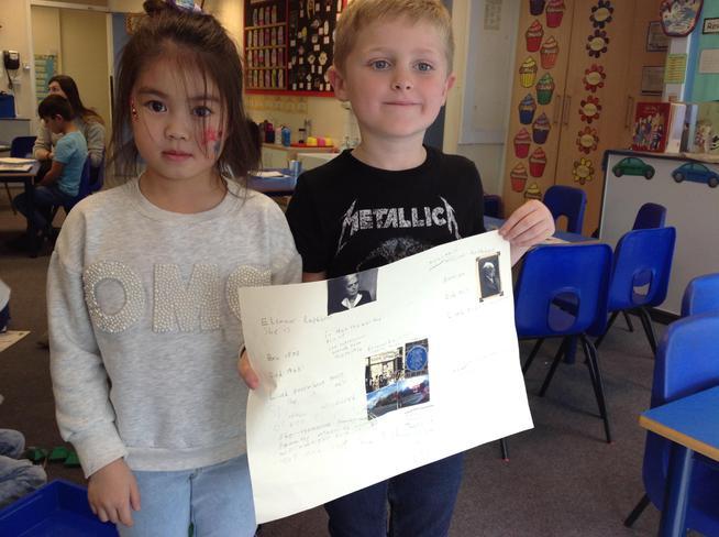 We enjoyed our History learning!
