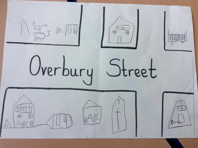 Geography - create a map of the local area using map symbols.