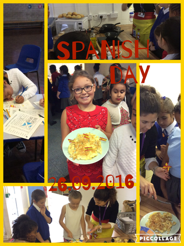 We enjoyed Spanish Day!