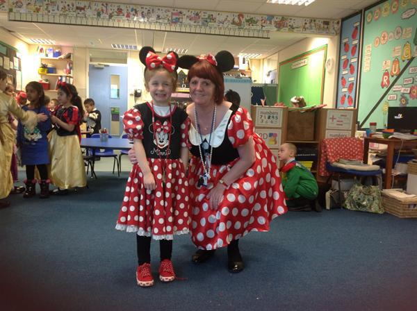 Minnie and Mini Minnie