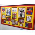 Whole school focus Spanish artist - work from KS2