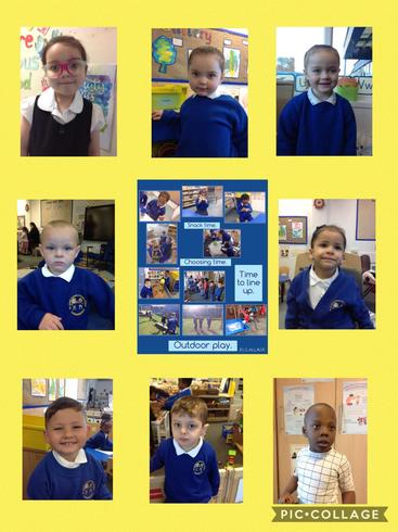 Welcoming new friends and helping them to learn our routines.