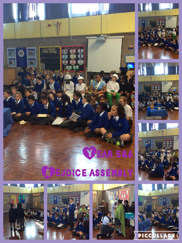Our Rejoice Assembly for our topic 'Loving'