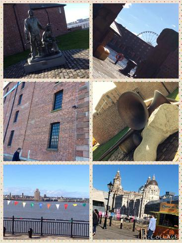 We enjoyed a great day out at the Albert Dock.