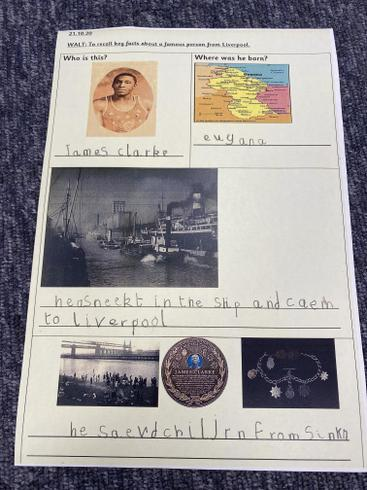 We think James Clarke was brave, strong and courageous.