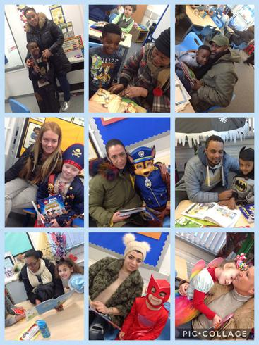 A Reading Breakfast with our families.