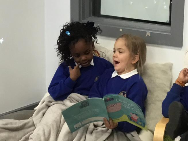 Sharing a love of reading