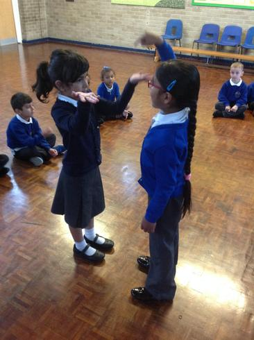 We thought about the job of a puppeteer.