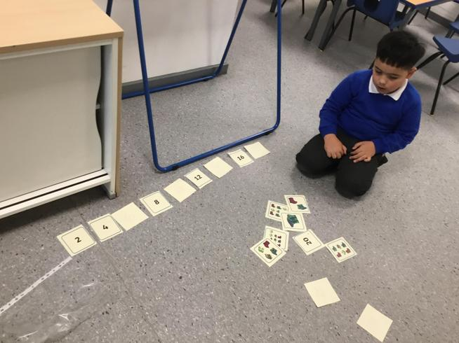 Counting in 2s, 3s, 5s, and 10s