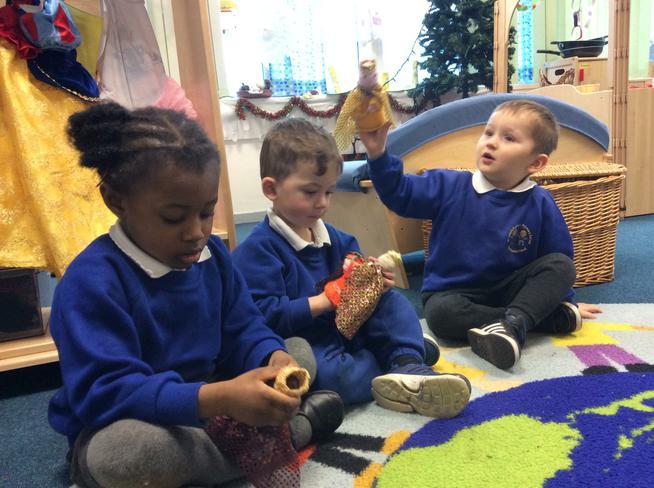 Small world nativity
