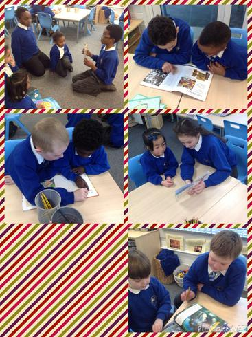 Reading with our Year 6 buddies, thank you!