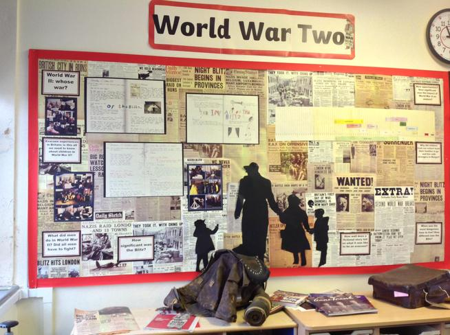 World War Two Topic Display - Y5K