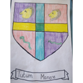 A 'Stay Safe' coat of arms
