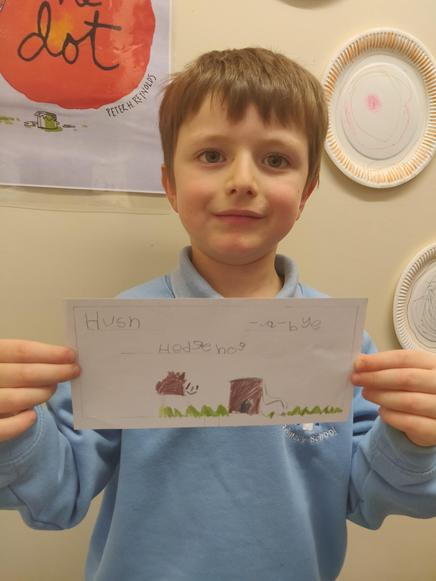 Well done Jack. (class 1)