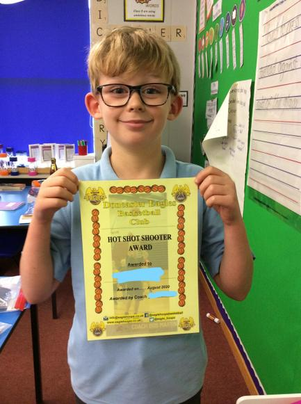 Well done Ethan, what a fabulous achievement!