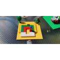 A lego rainbow