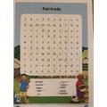 A Fairtrade wordsearch