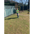 PE in the garden