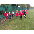 Class 5 collectively ran 107 miles!